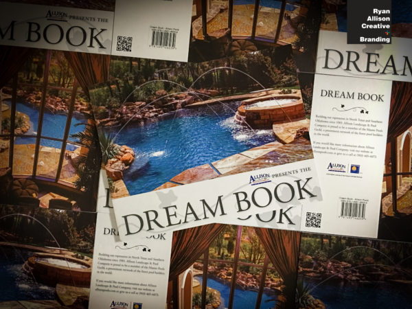 Allison Landscape & Pool Company - Dream Book - Ryan Allison Creative + Branding