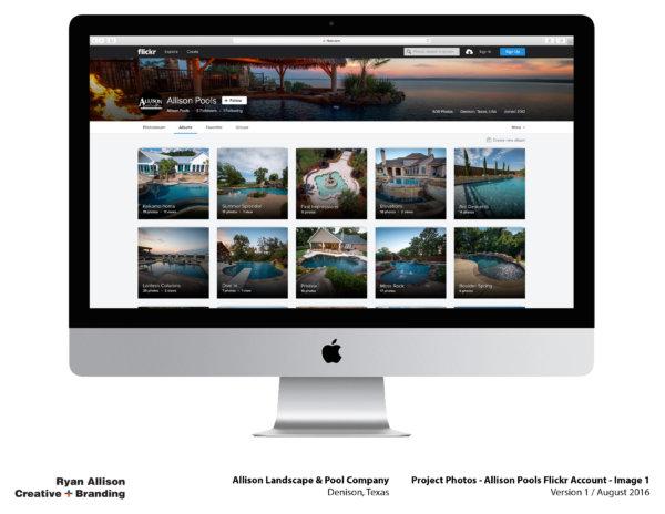 Allison Pools Project Photos Flickr Account Image 1 - Project - Ryan Allison Creative + Branding