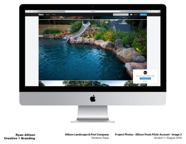 Allison Pools Project Photos Flickr Account Image 3 - Project - Ryan Allison Creative + Branding