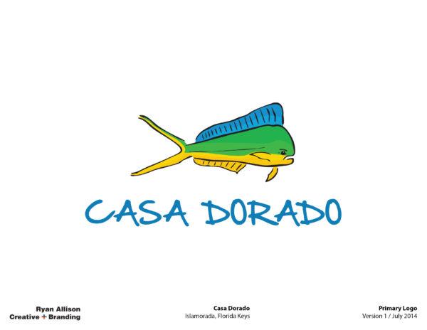Casa Dorado Primary Logo - Logo - Ryan Allison Creative + Branding