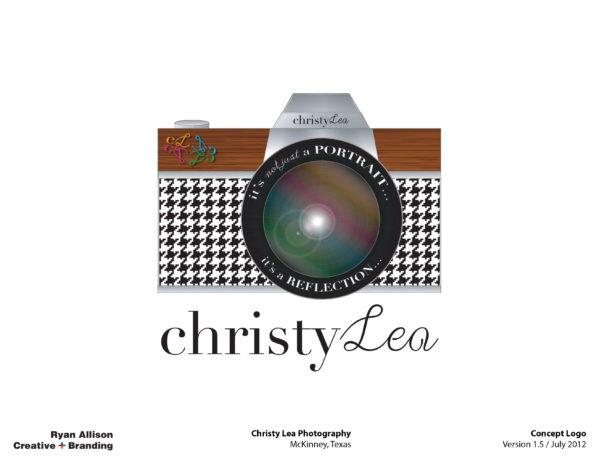 Christy Lea Photography Concept Logo V1.5 - Logo - Ryan Allison Creative + Branding