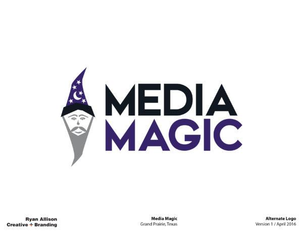 Media Magic Alternate Logo - Logo - Ryan Allison Creative + Branding