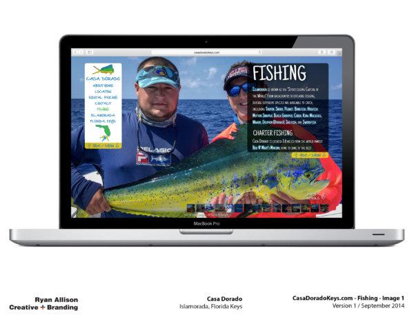 Casa Dorado Website Fishing 1 - Project - Ryan Allison Creative + Branding