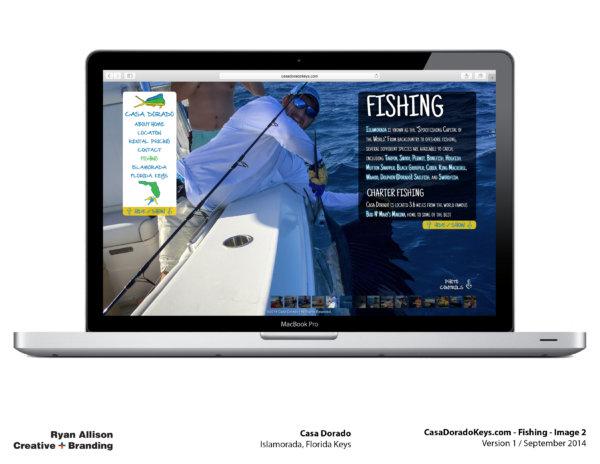 Casa Dorado Website Fishing 2 - Project - Ryan Allison Creative + Branding
