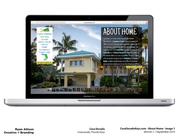 Casa Dorado Website Home 1 - Project - Ryan Allison Creative + Branding