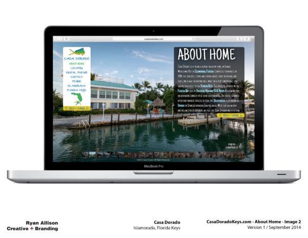 Casa Dorado Website Home 2 - Project - Ryan Allison Creative + Branding