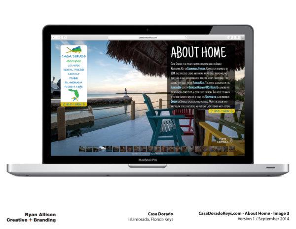 Casa Dorado Website Home 3 - Project - Ryan Allison Creative + Branding