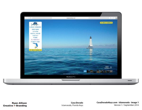 Casa Dorado Website Islamorada 1 - Project - Ryan Allison Creative + Branding