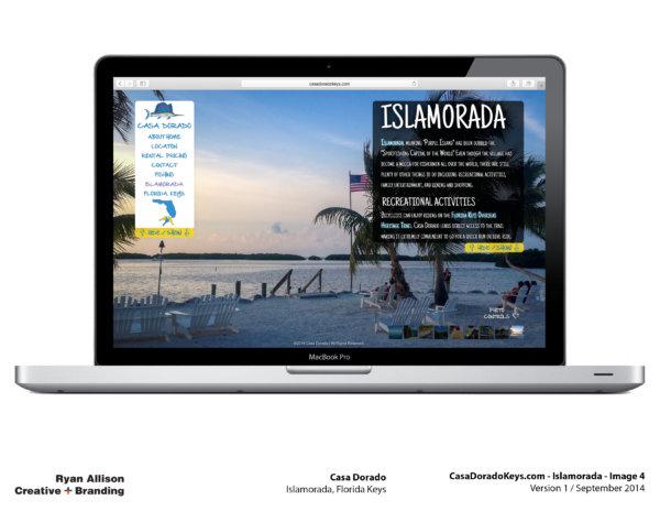 Casa Dorado Website Islamorada 4 - Project - Ryan Allison Creative + Branding