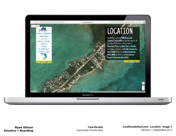 Casa Dorado Website Location 1 - Project - Ryan Allison Creative + Branding