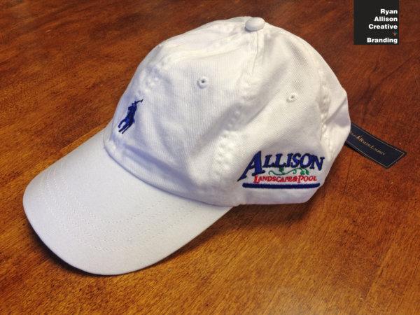Allison Landscape & Pool Company - Custom Polo Ralph Lauren® Hat - Ryan Allison Creative + Branding