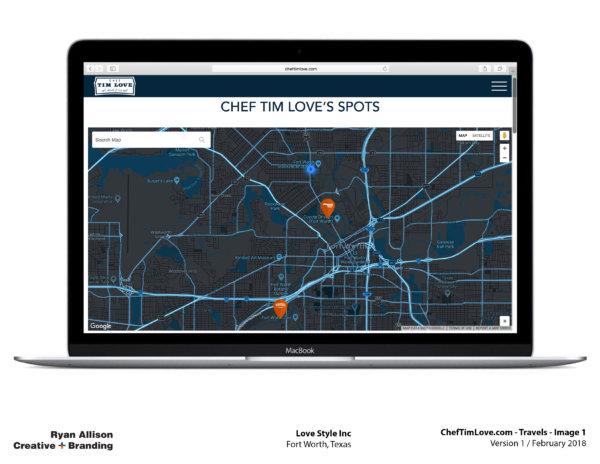 Love Style Inc Chef Tim Love Website Travels 1 - Project - Ryan Allison Creative + Branding